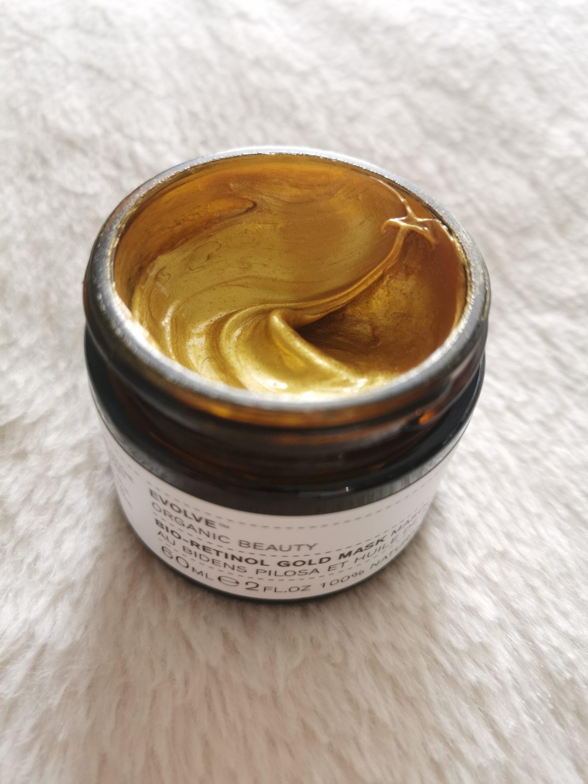 Masque bio gold naturel
